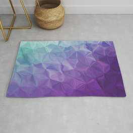 Abstract painting color texture Rug