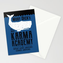 The Moby Dick Academy of Karma Stationery Cards