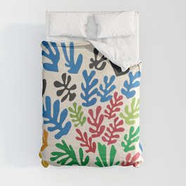 Leaf Cutouts by Henri Matisse (1953) Comforters
