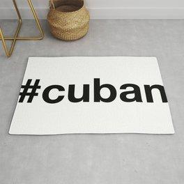 CUBAN Hashtag Rug