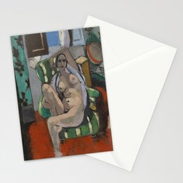 Odalisque with a Tambourine by Henri Matisse Stationery Cards