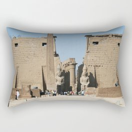 Temple of Luxor, no. 12 Rectangular Pillow