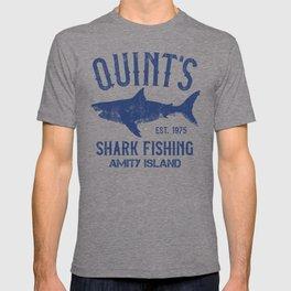 Quint's Shark Fishing - Amity Island T-shirt