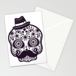 Halloween Sugar Skull Stationery Cards