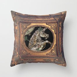 cadre - unicorn - licorne - unicorno - 獨角獸  Throw Pillow
