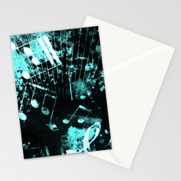 Musical Atmosphere 6 Stationery Cards