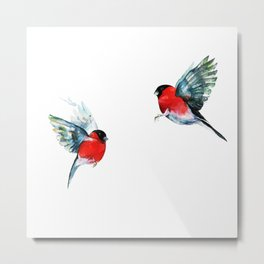 Couple of birds Metal Print