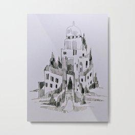 Tilted Welcomings Metal Print