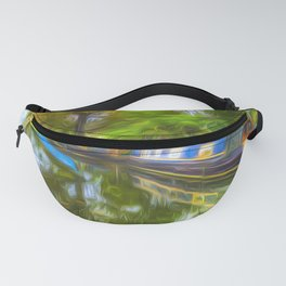 Narrow Boat Touch Of Art Fanny Pack
