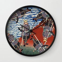 Faith in the Third-Day Moon Wall Clock