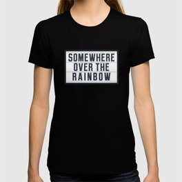 Somewhere - Typo T-shirt