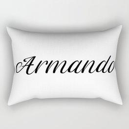 Name Armando Rectangular Pillow
