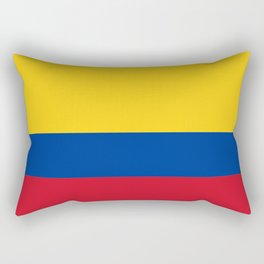 Flag of Colombia-Colombian,Bogota,Medellin,Marquez,america,south america,tropical,latine america Rectangular Pillow