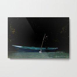 Caño Frio Samana Metal Print
