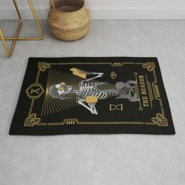 The Reader X Tarot Card Rug