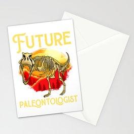 Future Paleontologist Dinosaur Obsessed Dinosaurs Stationery Cards
