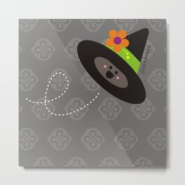 Witched Hat Metal Print