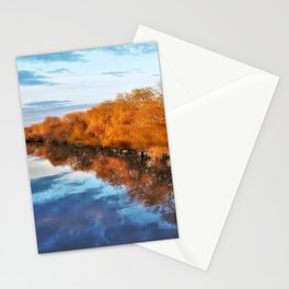 Reflections in the River Ouse Stationery Cards