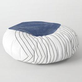 Blue Perfect Balance Floor Pillow