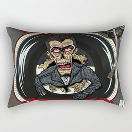 Rockabilly will never die Rectangular Pillow