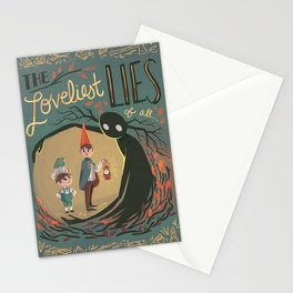 Over the Garden Wall Print #1 Stationery Cards