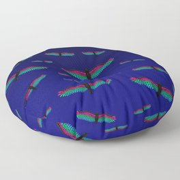Fly With Pride, Raven Series - Polysexual Floor Pillow