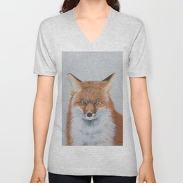Foxy the Fox Unisex V-Neck