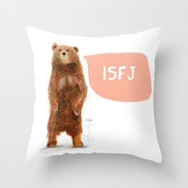 ISFJ - Bear Throw Pillow