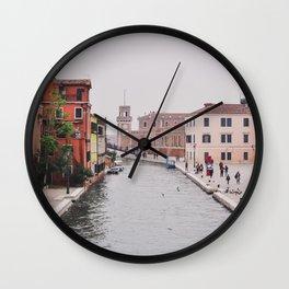 Venice Scene Wall Clock