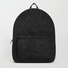 Scratches on Black Metallic Surface Backpack