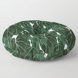 philodendron pot plant Floor Pillow