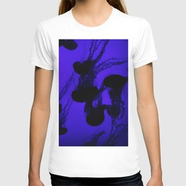 Jellyfish - Blue Ombre T-shirt