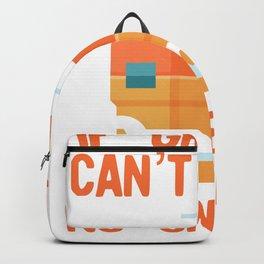 Funny Grandpa design If Grandpa Cant Fix It No One Can Backpack