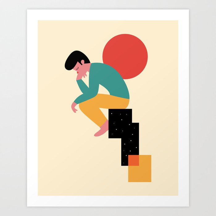 Discover the motif THINK by Andy Westface as a print at TOPPOSTER