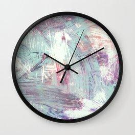 Weathered Rhythms Wall Clock