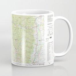 MT Missoula West 268445 1981 topographic map Coffee Mug