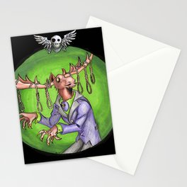 Noose Moose Dark Stationery Cards