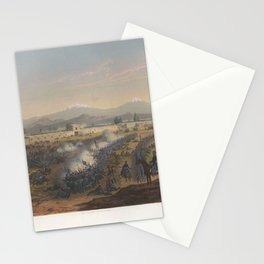 Nebel & Bayot - The Mexican-American War 08: Attack on the Molino del Rey (1851) Stationery Cards