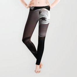 Sexy Hentai Girl Warrioress Female Warrior Upskirt Ultra HD Leggings