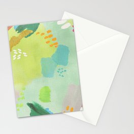 Bright Paints + Gold Stationery Cards