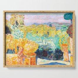 Pierre Bonnard - Paysage du Midi et deux Enfants - Landscape in Midi and two Children - Les Nabis Pa Serving Tray