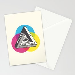 Seeing is Believing Stationery Cards