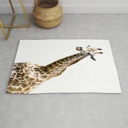 nursery wall art, animal wall art, Giraffe wall art, Giraffe wall art, wildlife wall art, oil paint Rug