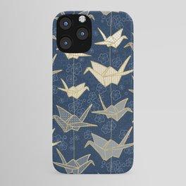 Sadako's Good Luck Cranes iPhone Case