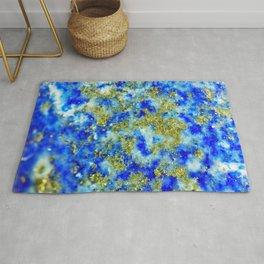 Lapis Lazuli Texture Rug
