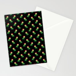 Turtle Sea Animal Merry Christmas Santa Claus  Stationery Cards
