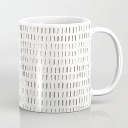 Minimal Brush Strokes- Coordinating Pattern Coffee Mug