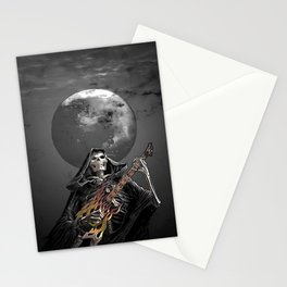 Rock and Roll never dies Stationery Cards