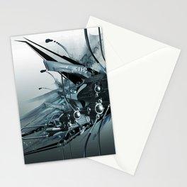 AI Tech Stationery Cards