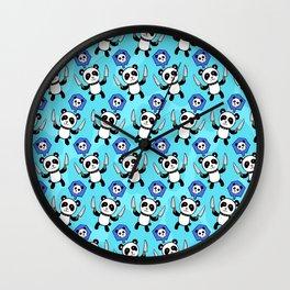 Panda Kill Chu Wall Clock